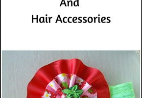 DIY Strawberry Flowers And Hair Accessories #tutorial #diy