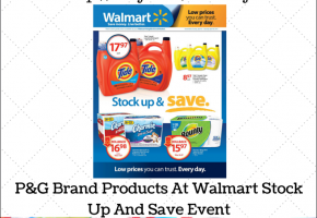Walmart Stock Up And Save Event! $25 Gift Card #Giveaway!