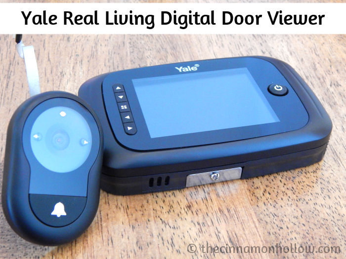 Yale Digital Door Viewer With Recording