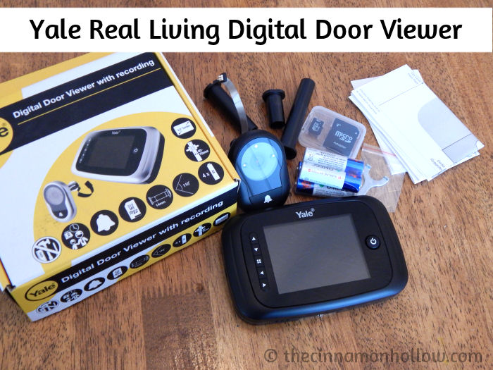 Digital Door Viewer With Recording