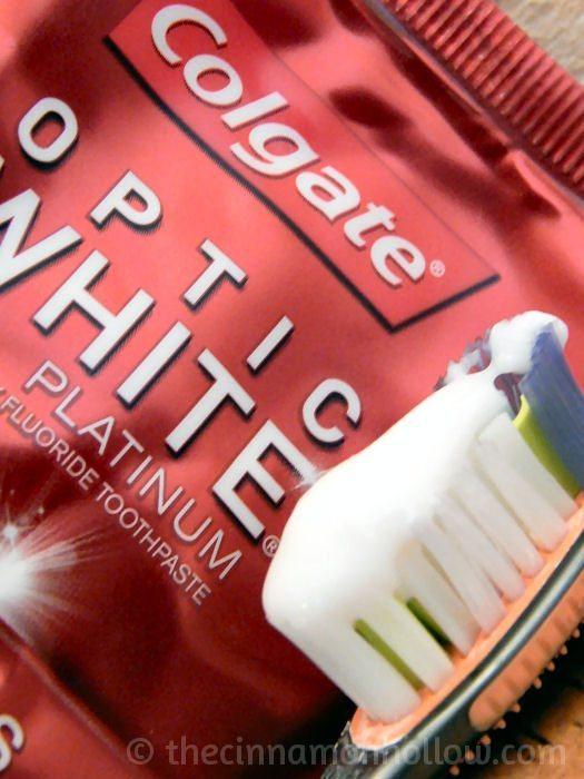 Colgate Optic White Platinum Toothpaste