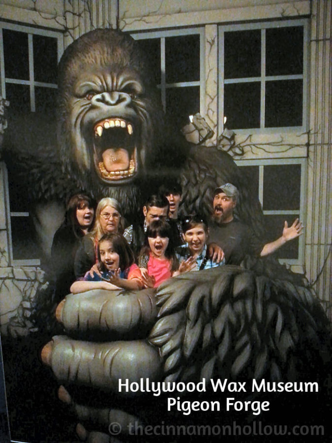 Hollywood Wax Museum Pigeon Forge Tennessee Group Photo