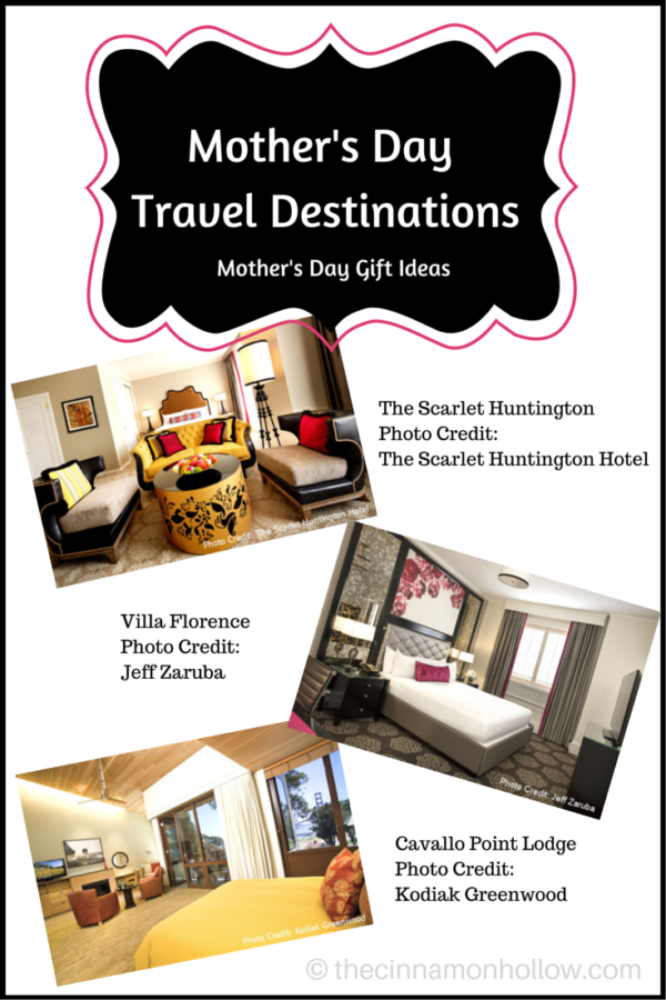 Mothers Day Travel Destinations Gift Ideas