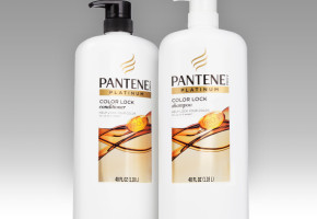 Pantene's Platinum Color Lock System