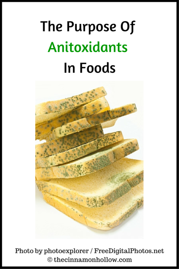 What Is The Purpose Of Anitoxidants In Foods