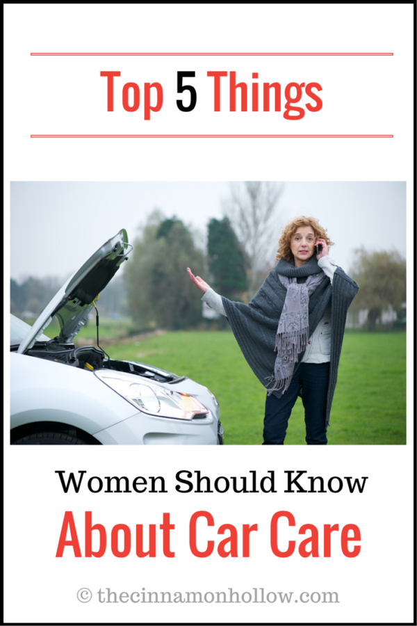 Top 5 Things Women Should Know About Car Care