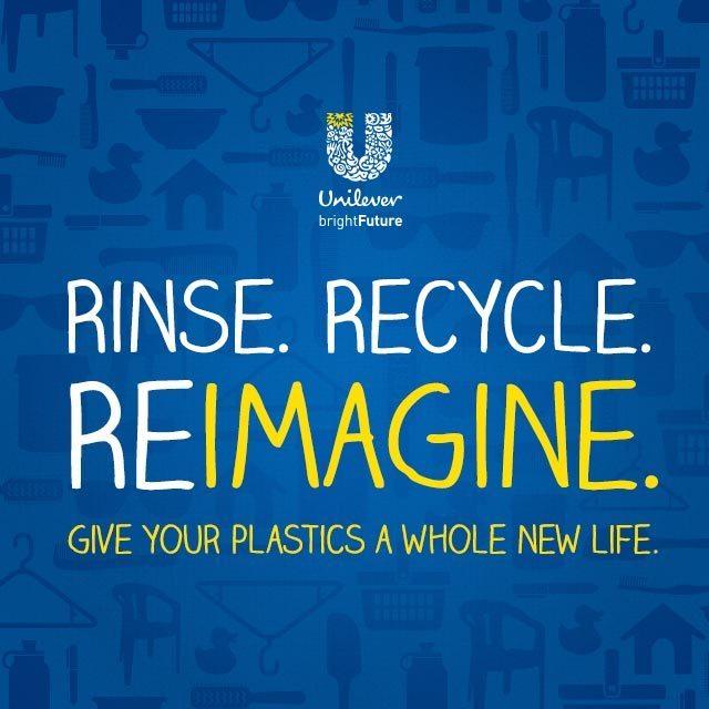 Unilever Rinse, Recycle, Reimagine for a Bright Future