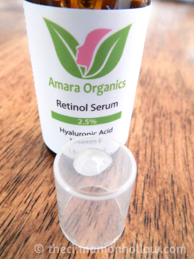 Amara Organics Retinol Serum Review