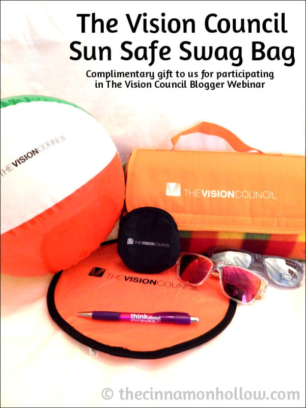 The Vision Council Sun Safe Swag Bag Sunglasses