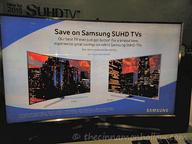 Samsung 4K SUHD TV at Best Buy