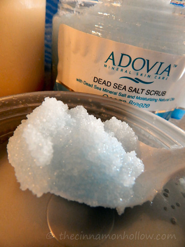 Adovia Dead Sea Salt Scrub