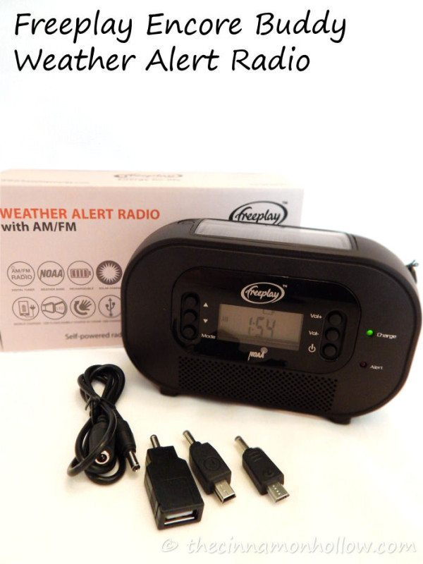 Freeplay Encore Buddy Weather Alert Radio