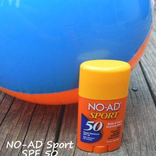 NO-AD Sport SPF 50 Body & Face Sunscreen Stick