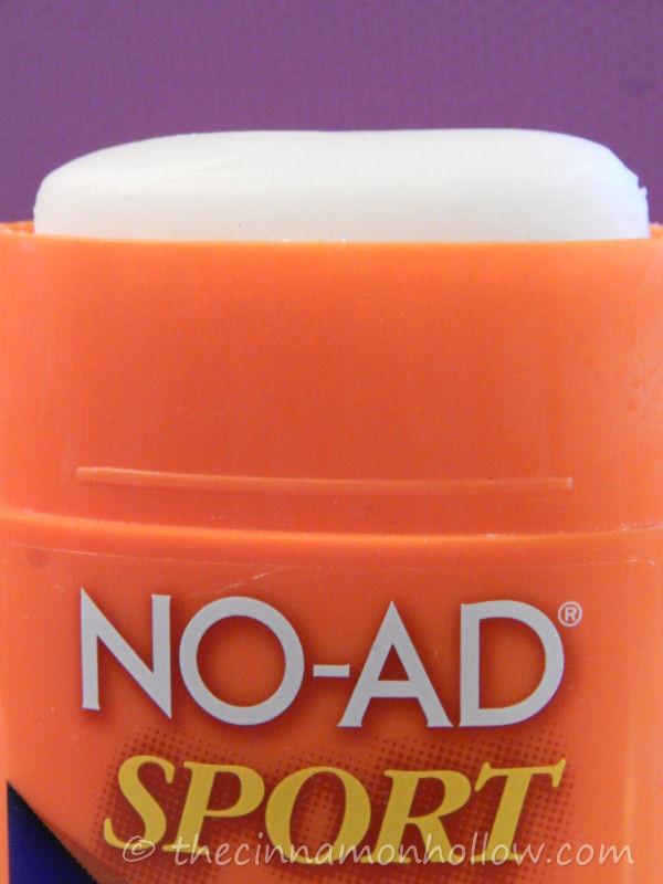 NO-AD Sport SPF 50 Body & Face Sunscreen Stick.