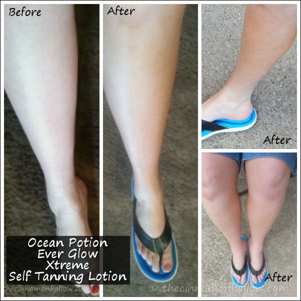 Ocean Potion Ever Glow Xtreme Self Tanning Lotion