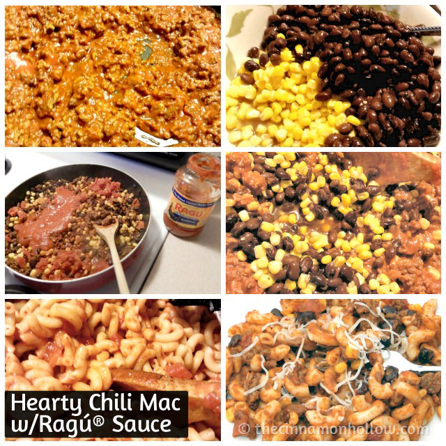 Hearty Chili Mac #Saucesome Ragú® Hearty Traditional Sauce
