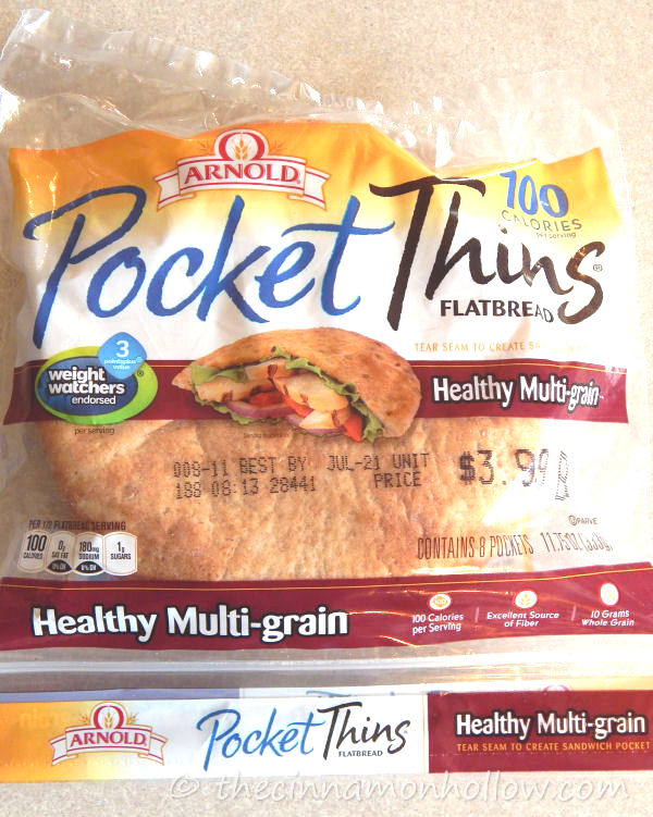 Arnold Multi Grain Pocket Thins Pita Bread