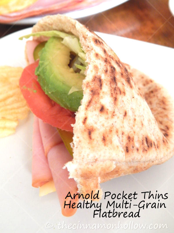 Arnold Multi Grain Pocket Thins Pita Bread Sub Sandwiches