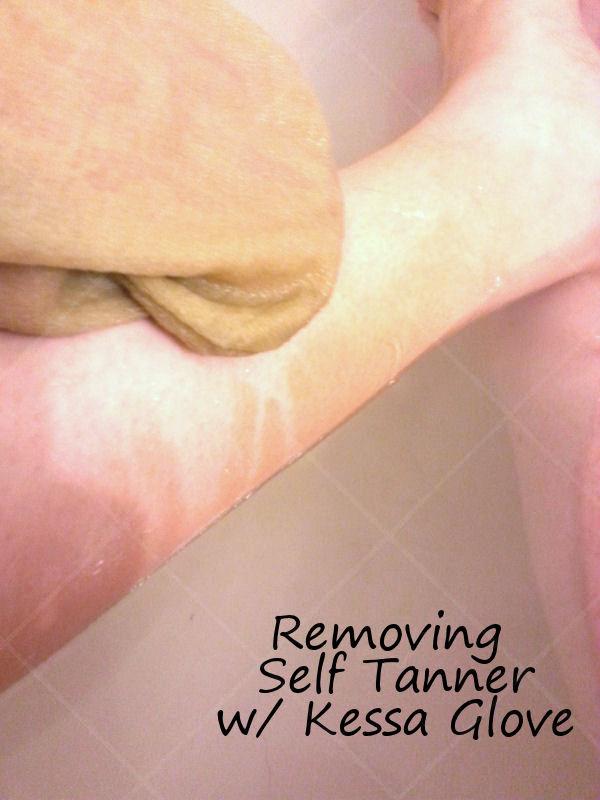 Remove Self Tanner With Zakia's Exfoliating Kessa Glove
