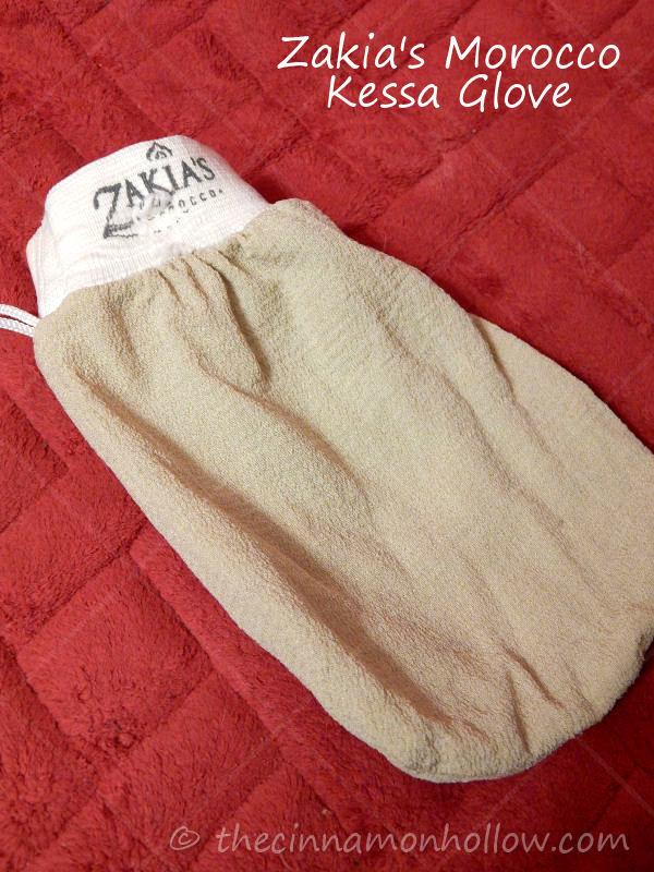 Zakia's Exfoliating Kessa Glove