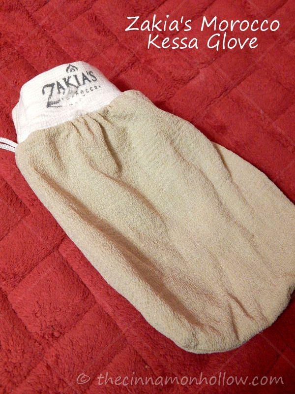 How To Remove Self Tanner With Zakia's Morocco Exfoliating Kessa Glove