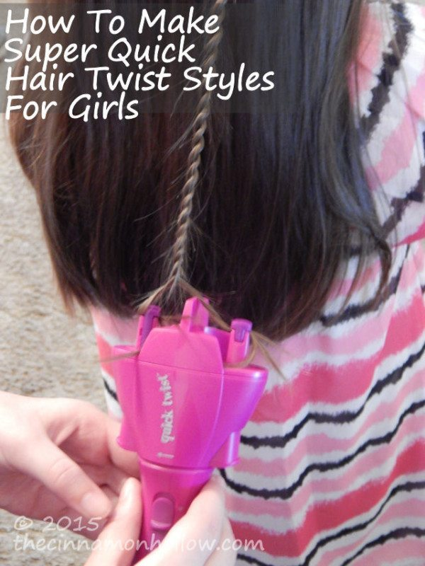 How To Make Super Quick Hair Twist Styles For Girls
