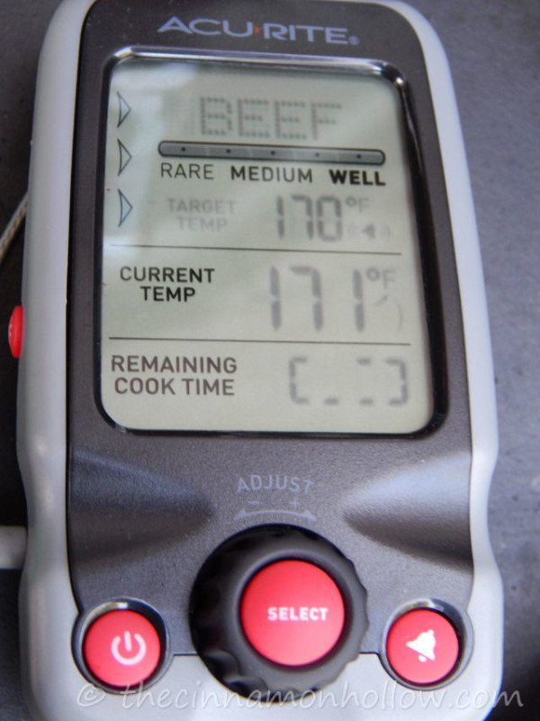 Tailgating: AcuRite Digital Cooking Thermometer