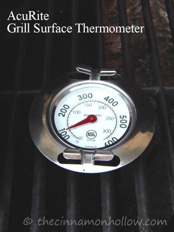 Tailgating: AcuRite Cooking Surface Thermometer