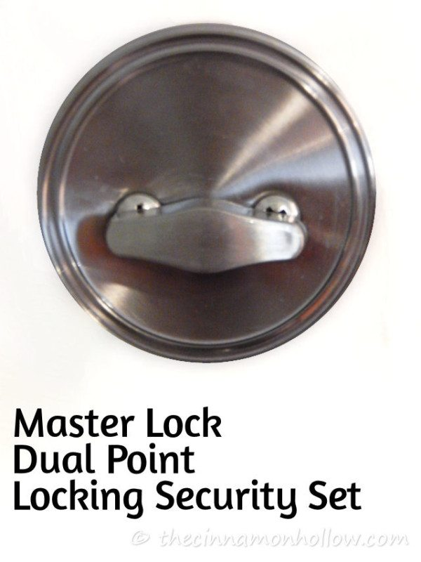 Master Lock Dual Point Locking Security Set Deadbolt