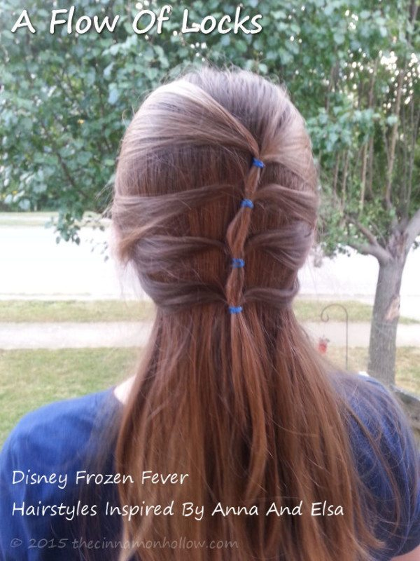 Frozen Inspired Hairstyles: A Flow Of Locks