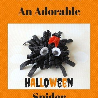 Fun Halloween Décor Ideas Plus How To Make An Adorable Spider Korker Bow