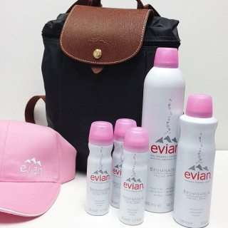 Enter The evian® Facial Spray Bon Voyage Sweepstakes!