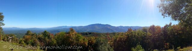 View From Mt. Harrison Ober Gatlinburg