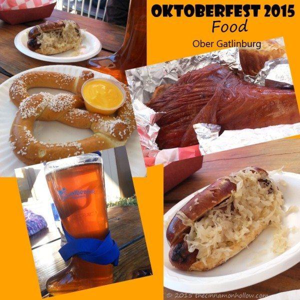 Oktoberfest Food Ober Gatlinburg