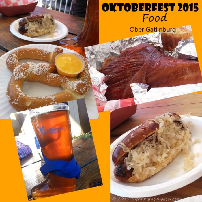 Oktoberfest Food Ober Gatlinburg
