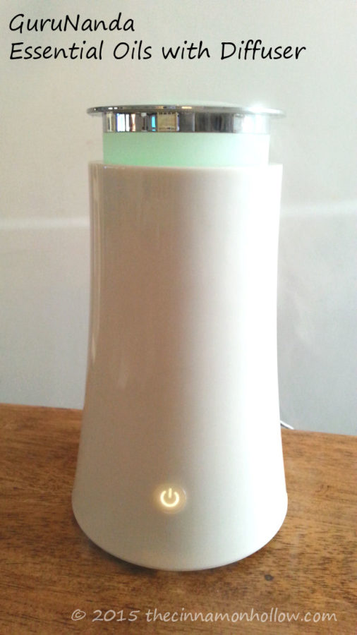 GuruNanda Essential Oils With Diffuser
