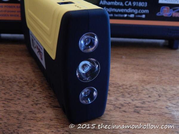 Nunet Multi-Function Jump Starter with Air Compressor Flashlight