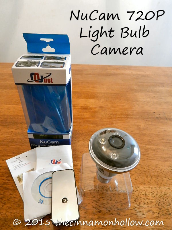 Light Bulb Hidden Camera