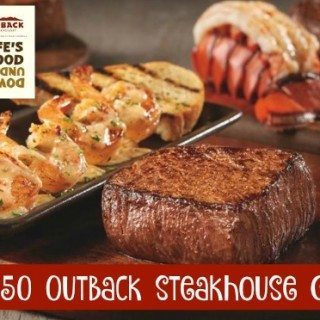 Enter To Win A $50 Outback Steakhouse Gift Card!