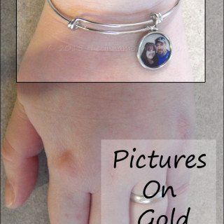 Gift Idea: Expandable Photo Bracelets