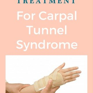 Pain Treatment For Carpal Tunnel Syndrome