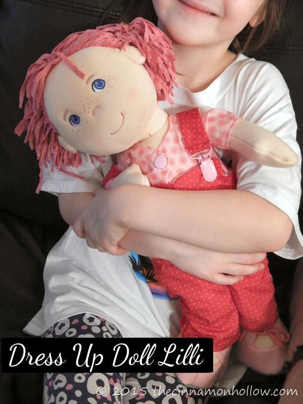 Dress Up Doll Lilli