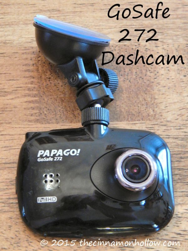 GoSafe 272 Dashcam camera lens