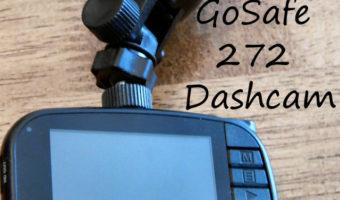 GoSafe 272 Dashcam screen