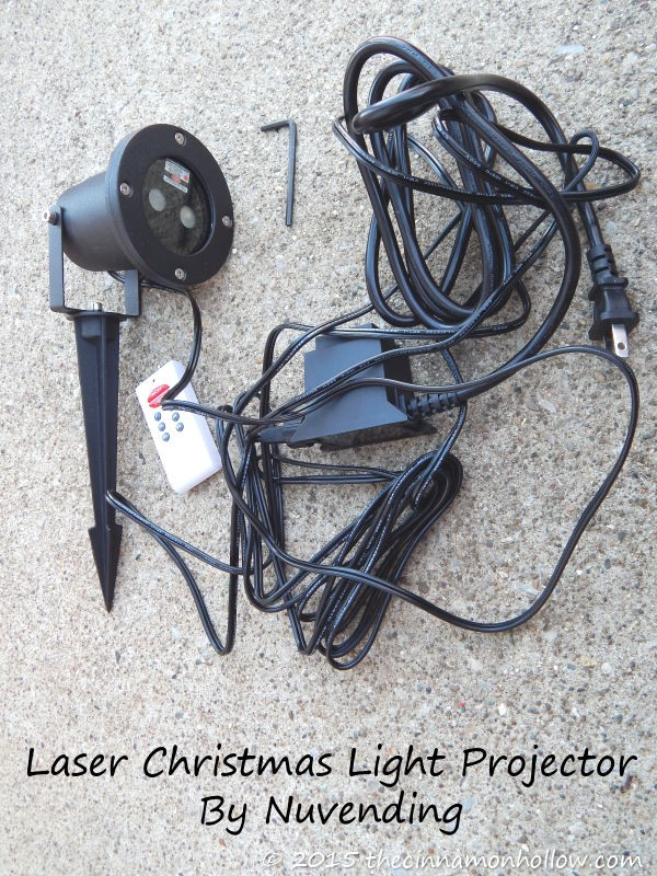 Nucam Laser Christmas Light Projector