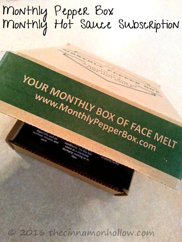 Hot Sauce Subscription Box