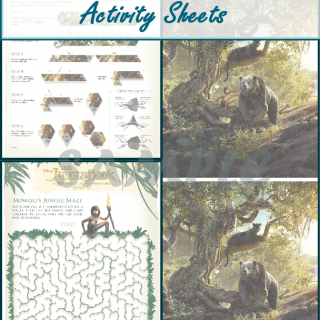 The Jungle Book Activity Sheets
