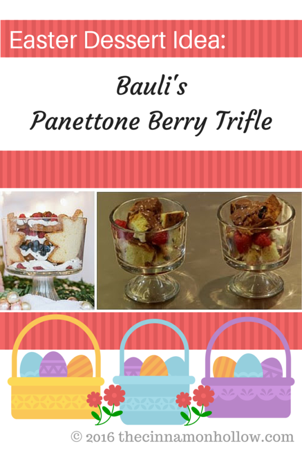 Bauli's Panettone Berry Trifle