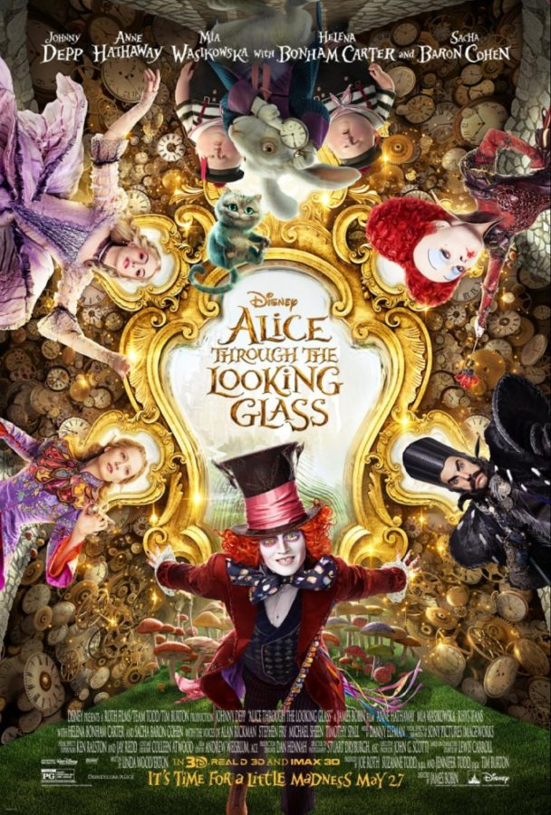 Alice Through The Looking Glass New Trailer & Johnny Depp Live Q&A