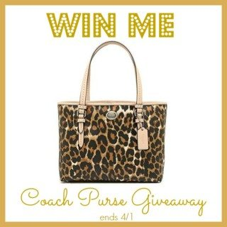 Enter To Win A Fabulous Coach Purse!